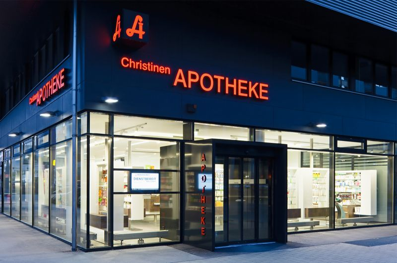 Christinen Apotheke Königlarch Architekten